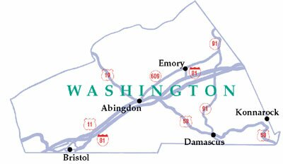City of Bristol in Washington County